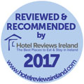 Recommended by Hotel Reviews Ireland