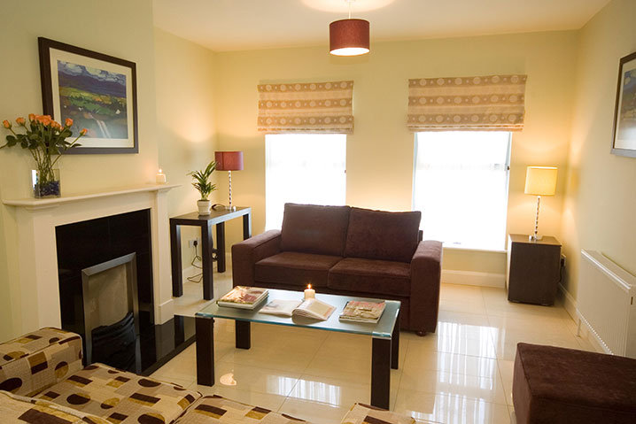 Kenmare Self Catering Holiday Homes Living Area