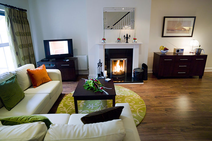 Kenmare self catering lodges - Living Area